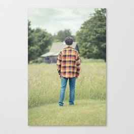 Teen Angst Canvas Print