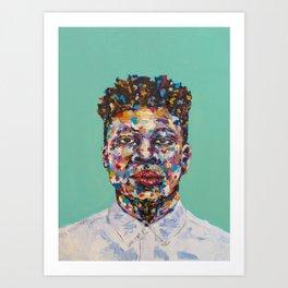 Mick Jenkins Art Print