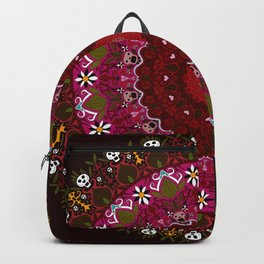 Trance Dream - Dia De Los Muertos (Blood Red Edition) Backpack