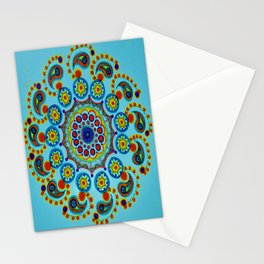 Neon Blossom Stationery Cards