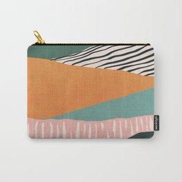 Modern irregular Stripes 02 Carry-All Pouch