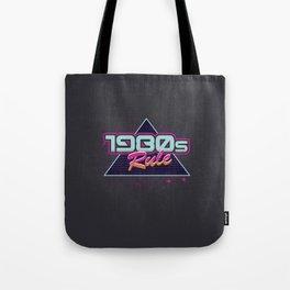 1980s Rule Tote Bag