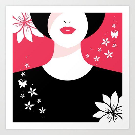 True Lady Art Print