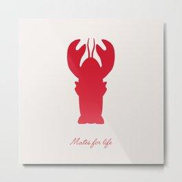 Mates for life Metal Print