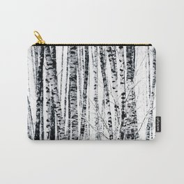 Birch Trees In Winter Carry-All Pouch
