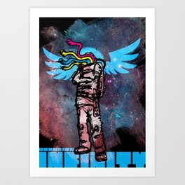 beyond infinity Art Print