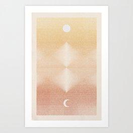 Rising Moon | 2 Art Print