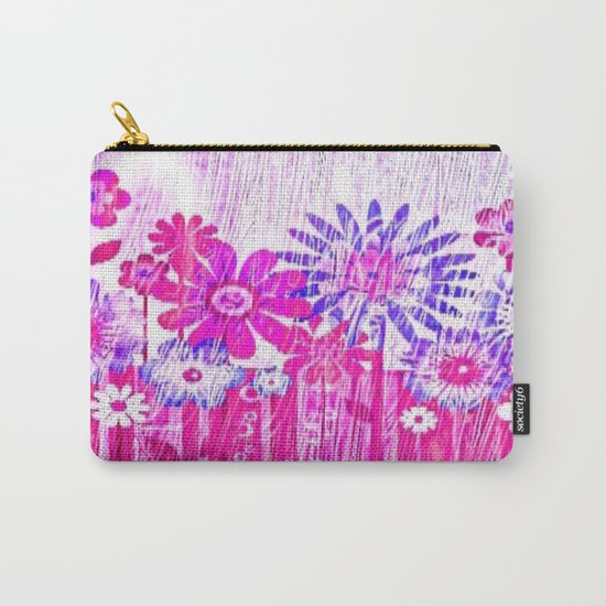 Blossoming Spring Flowers Carry-All Pouch
