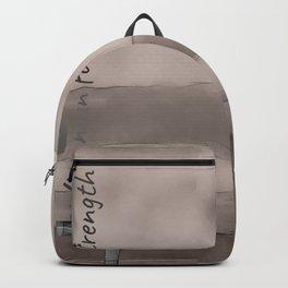 Styrka, Hela´s Ashen Gray Winter sun Backpack