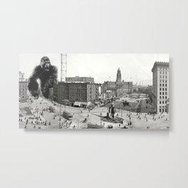 King Kong in Detroit 1907 Metal Print