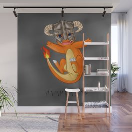 CHAR-MAN-DAAAAH!! Wall Mural