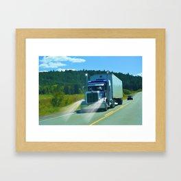 Supplying the Nation Framed Art Print