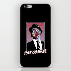 They Observe iPhone & iPod Skin