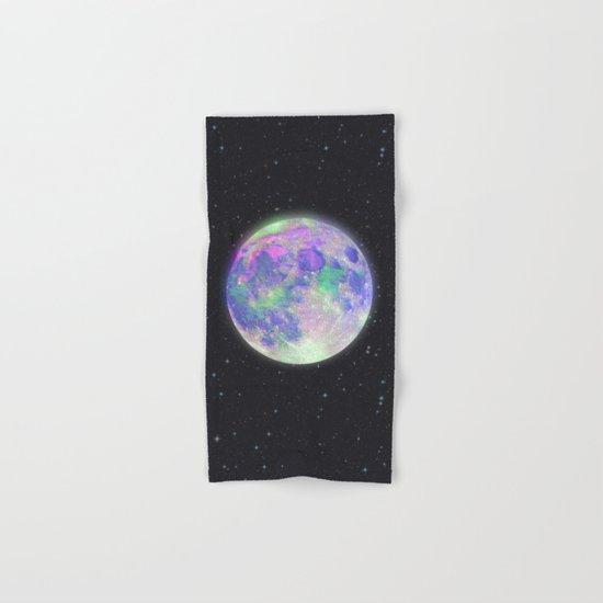 pink moon Hand & Bath Towel