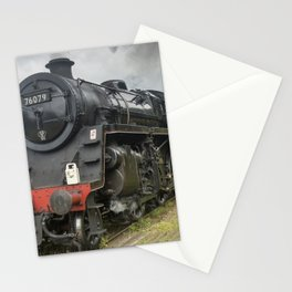 Beautiful steam train Stationery Cards