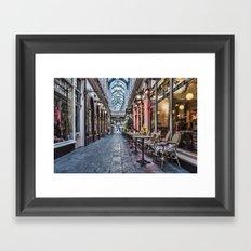 Arcade Cafe Framed Art Print
