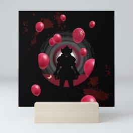 IT Clown - You'll float too Mini Art Print