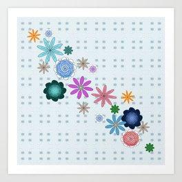 Floral System Art Print