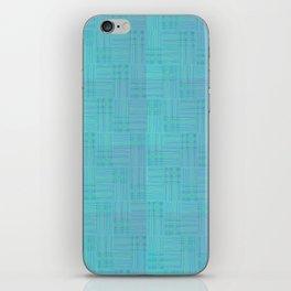 Interpretive Weaving (Scuba Doobie) iPhone Skin
