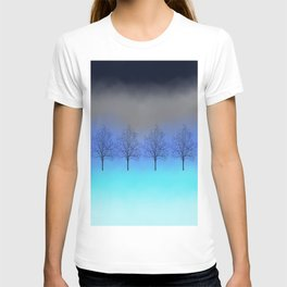 Abstract trees T-shirt