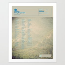 The Visual Mixtape 2010 | Bitte Orca | 12 / 25 Art Print
