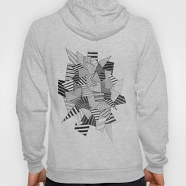 abstract crystal Hoody