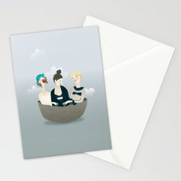 Over the ladies' nest  Stationery Cards