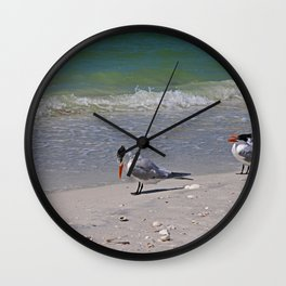 Hey...I Can See My Toes Wall Clock