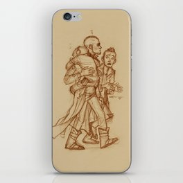 Yondu, Peter & Kraglin iPhone Skin