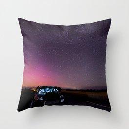 Nocturnal Subaru Throw Pillow