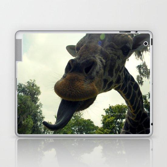 Giraffes are Silly. Laptop & iPad Skin