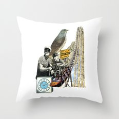 Navigate The Roller Coaster Ride Of Life Throw Pillow