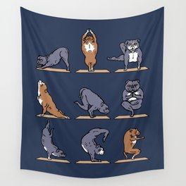 American Pit Bull Terrier Yoga Wall Tapestry
