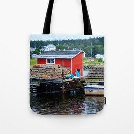 Fisherman's Shack Tote Bag