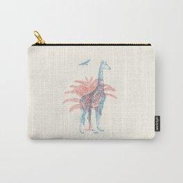 Giraffe - Where they Belong Carry-All Pouch