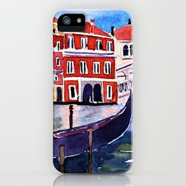 Rialto Bridge iPhone Case