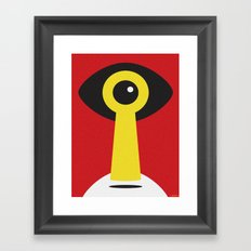 HERETIC Framed Art Print
