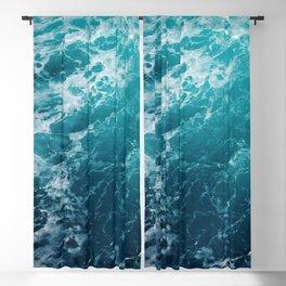 Sea Waves Dream #2 #ocean #wall #decor #art #society6 Blackout Curtain