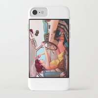 muscle iPhone & iPod Cases featuring The Getaway by Rudy Faber