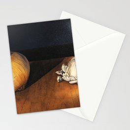 Garlic and Onion Stationery Cards