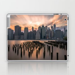 New york city long exposure Laptop & iPad Skin