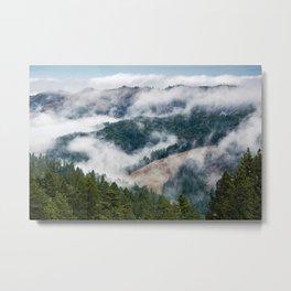 Mists of Marin Metal Print