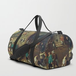 The Kitchen by David Teniers the Younger Duffle Bag