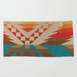 American Native Pattern No. 81 Beach Towel