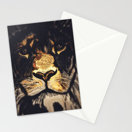Noble Lion Stationery Cards