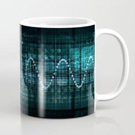 Technology Portal with Digital Circle Access System Coffee Mug