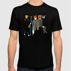 The gang Mens Fitted Tee MEDIUM Black