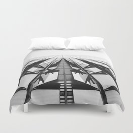 To the Limit - World Trade Center - NYC Duvet Cover