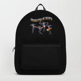 Orchestra Of Death Instruments Music Guitar Gift Backpack