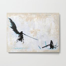 One Winged Angel Metal Print